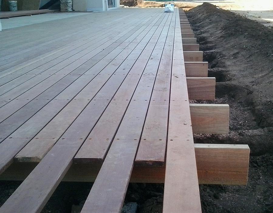 Pats timber decking timber deck building kzn building for Timber decking seconds