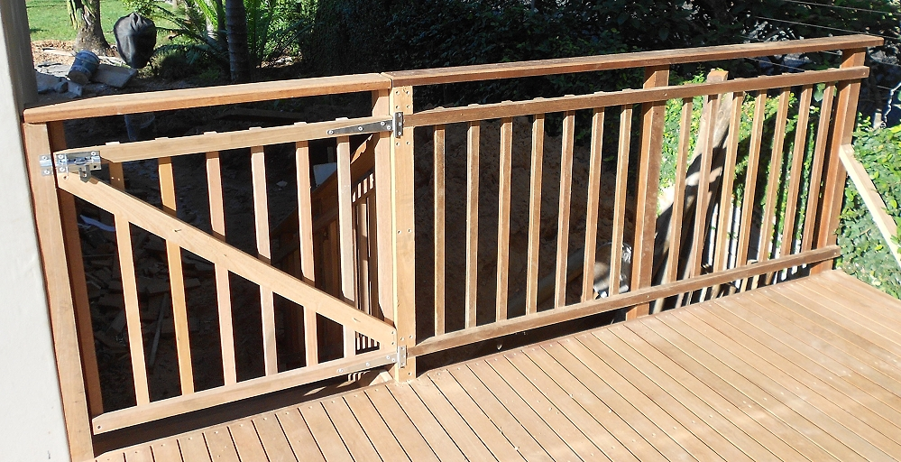 how to build wooden balustrade
